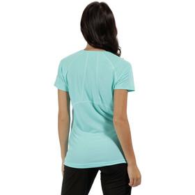 Regatta Virda II - T-shirt manches courtes Femme - turquoise